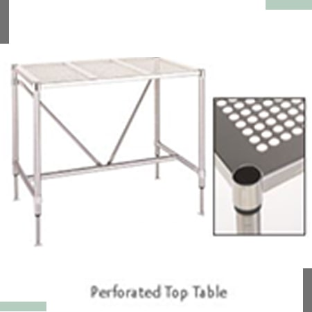Perforated Top Table