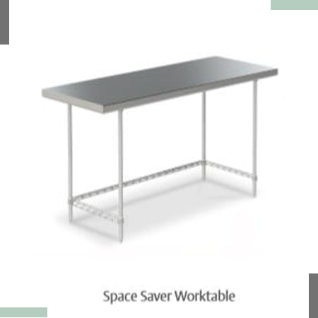 Space Saver Worktable