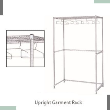 Upright Garment Rack